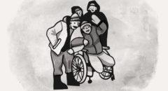 Спортивная площадка для бездомных с инвалидностью