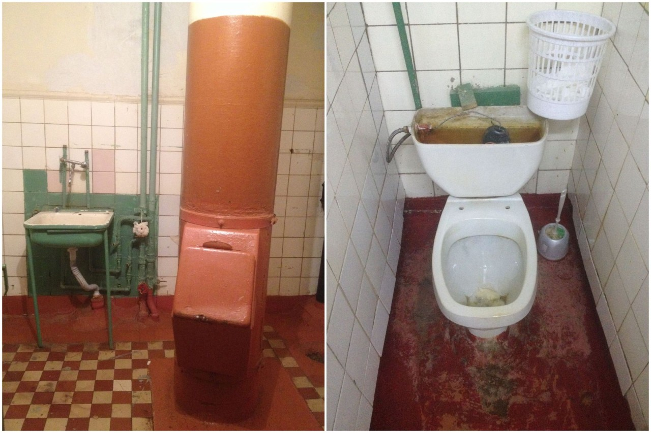 Туалет мгу видео
