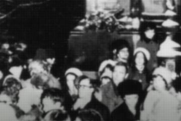 Демонстрация 5 декабря - это 5 декабря 1976 года.     фото: архив Международного Мемориала
