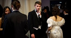 Первый благотворительный зимний пушкинский бал. Егор в ожидании начала бала.