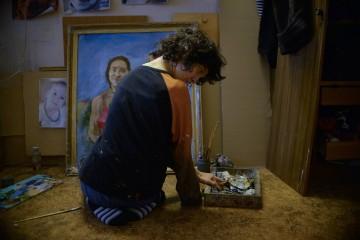 Художница мечтает обучать рисованию детей с ограничениями и писать картины на заказ