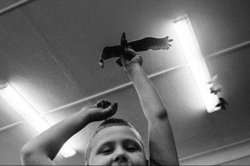 IKV_27052016_Detsad_autist Воспитанник детского сада №687 со своей игрушкой