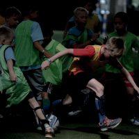 Соревнования по футболу в третий день Всемирных игр победителей