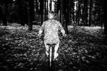 """Фестифаль проходил в экстрим-парке """"Долина Х"""", некоторые участники осмеливались прокатится по лесным горкам на своих круизерах"""