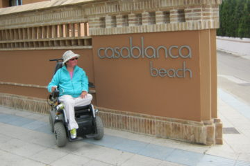Наталья Кашкуревич в Испании   фото: из личного архива