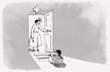 сироты в больницах/обложка кейса