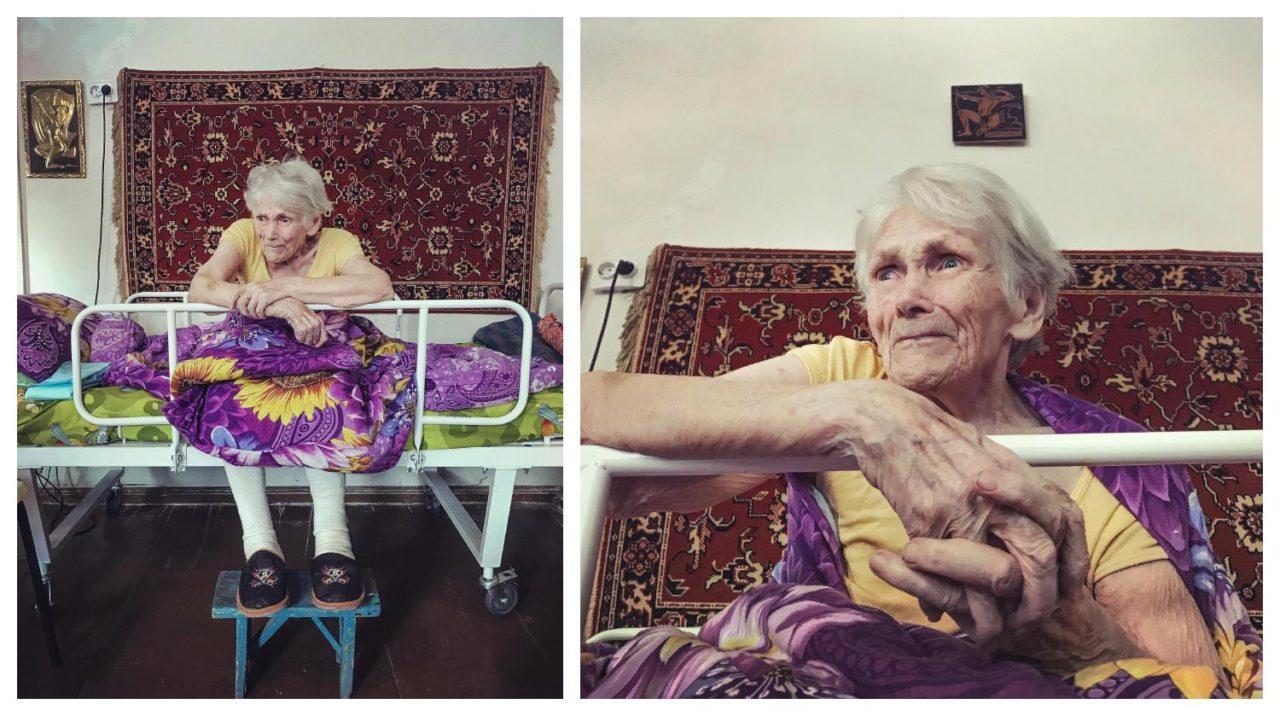 Старые в халатах в постели фото фото 539-347