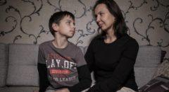 Ина Герасимова с сыном Егором