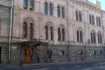 Европейский Университет в Санкт-Петербурге  фото: TasyaPolina/commons.wikimedia.org