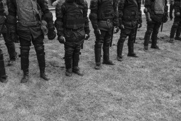 Полицейские на Страстном бульваре