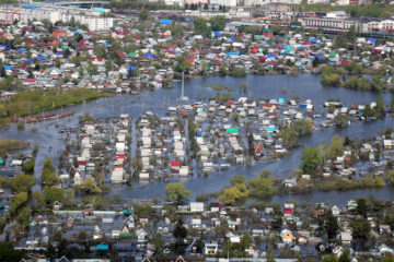 Tyumen Region affected by spring floods