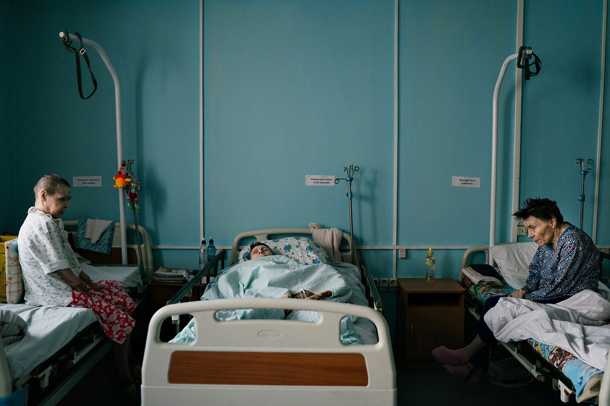 творчески переработанные пациенты хосписа фото спортзал