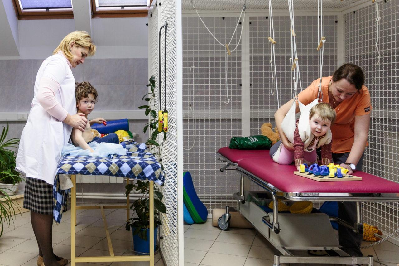 Социальная реабилитация детей с дцп