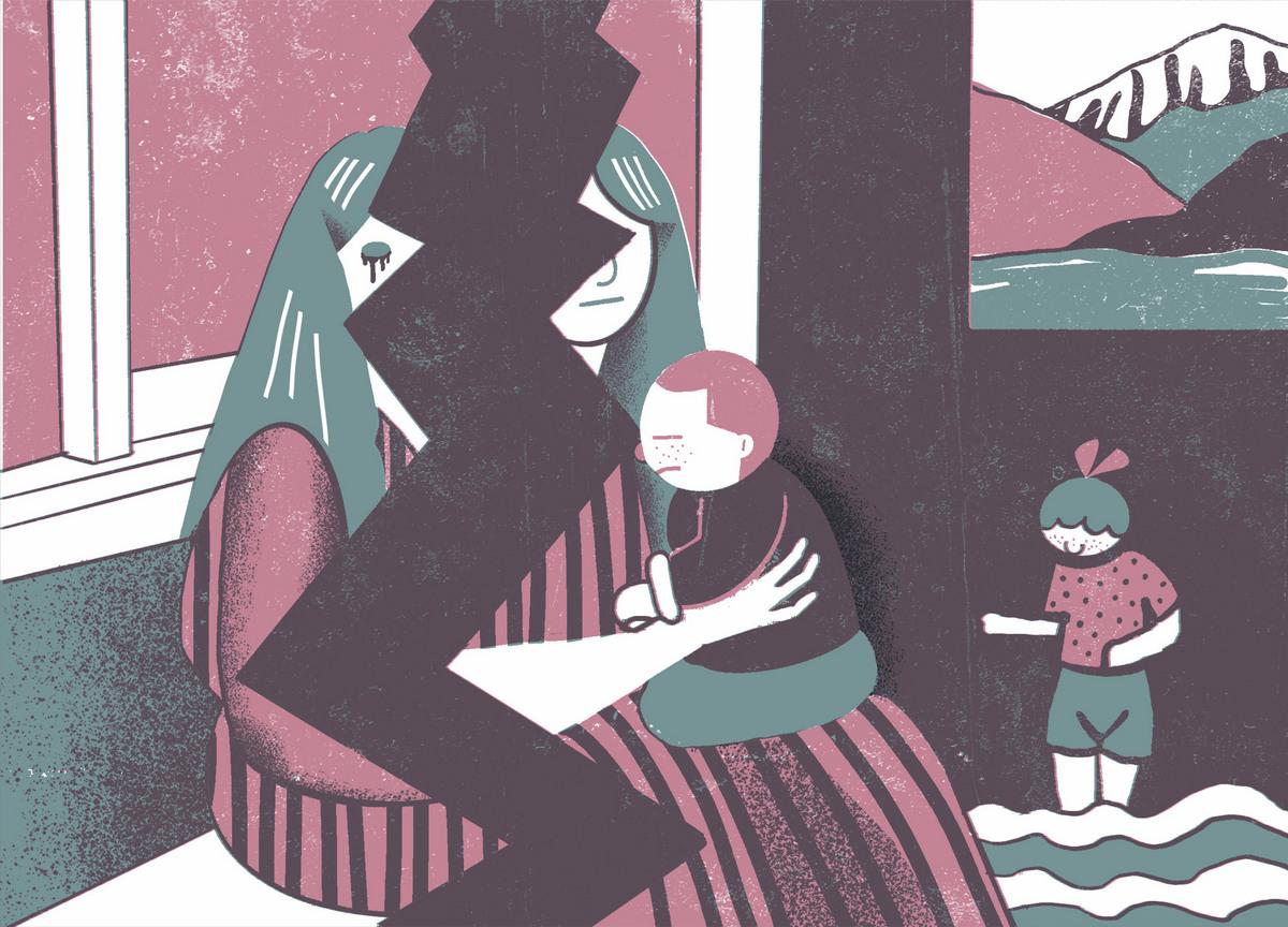 Садизм — разлучать детей с матерью. Иллюстрация: Рита Черепанова для ТД